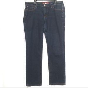 Lucky Brand Dark Wash Straight Jeans